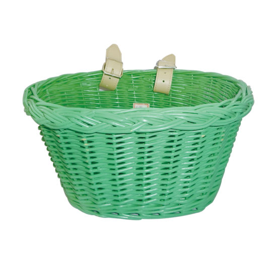Cheaper and Colorful Plastic Bicycle Basket with Cover