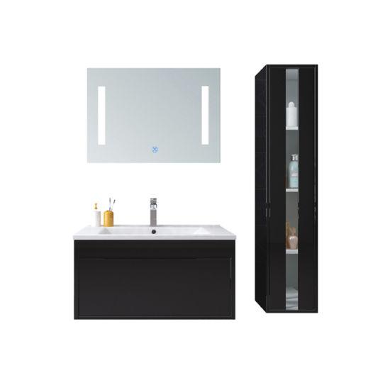 Unique DesignClassic Black Bathroom Mirror Vanity