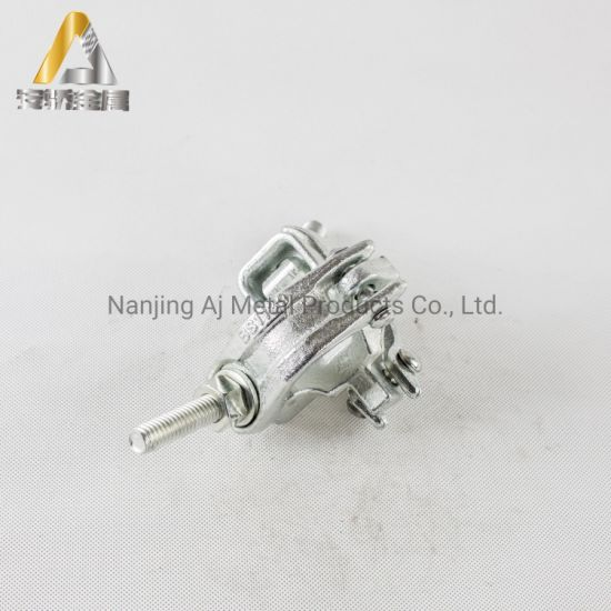 BS1139 En74 Scaffolding Pipe Parts Clamp Forged Scaffold Tube Swivel Coupler Manufacturer