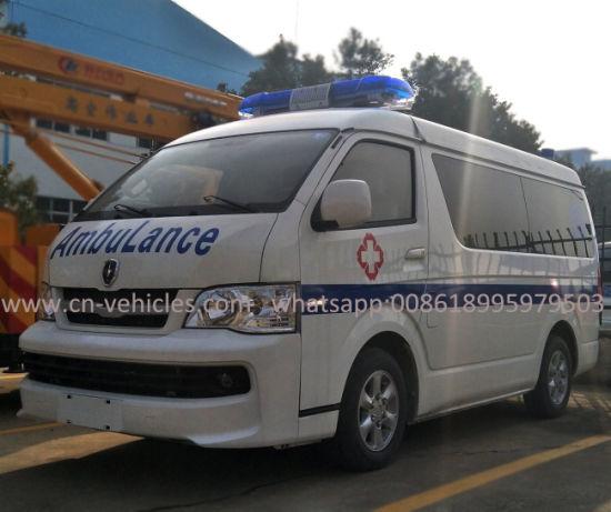 Ambulance For Sale >> China Jinben 3 8 Person Ambulance Car For Sale China