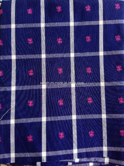 100% Cotton Yarn Dyed jacquard Fabric for Shirt Dressing and Home Textile pictures & photos
