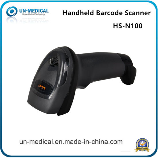 Top Selling POS System Handheld 1d Laser Barcode Scanner Used in Stores and Supermarket pictures & photos