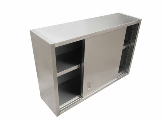 Stainless Steel Wall Mounted Cabinet Used in Hotel Restaurant