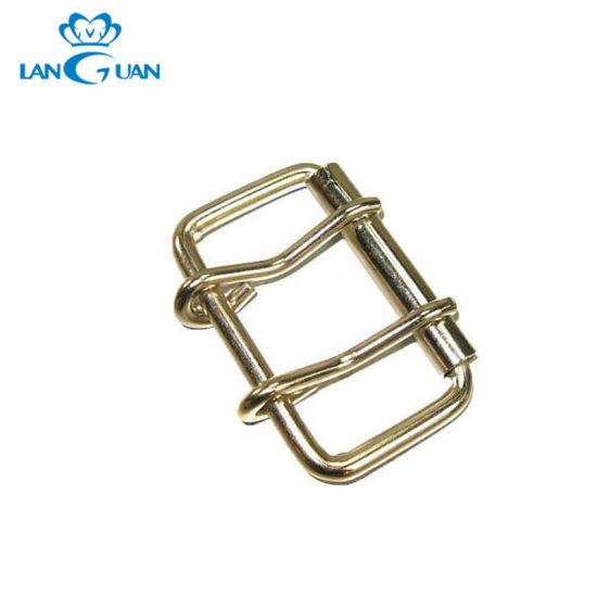Brass Two Pins Metal Roller Buckle Fancy Style