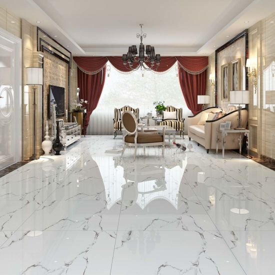 Inexpensive Bathroom Contemporary Kitchen White Floor Marble Tile
