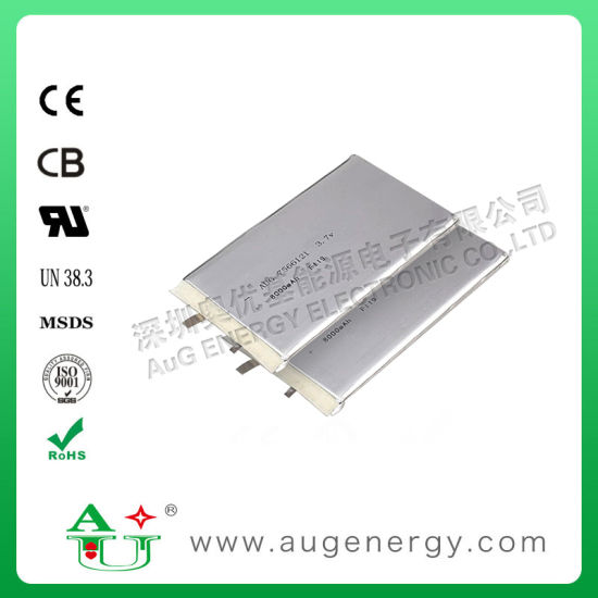 3.7V 8000mAh Rechargeable Battery Lithium Polymer Battery Li-Polymer Battery Cell