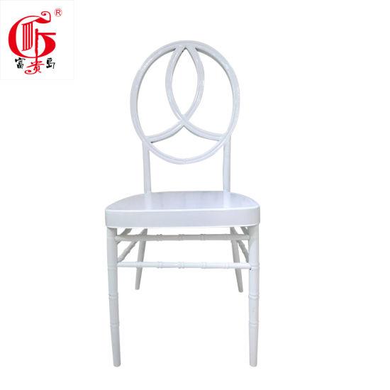Restaurant Hotel Banquet Chair for Sale White Wedding Phoenix Chair