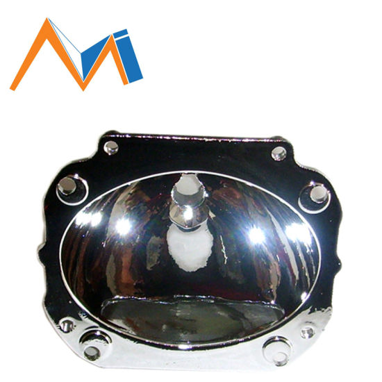 Customized LED Lights Aluminum Die Casting Automobile Headlamp Cover