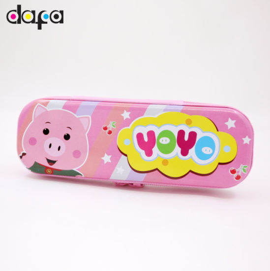 Shanghai Dafa Manufacture High Quality Tin Box for Pencil Case-137