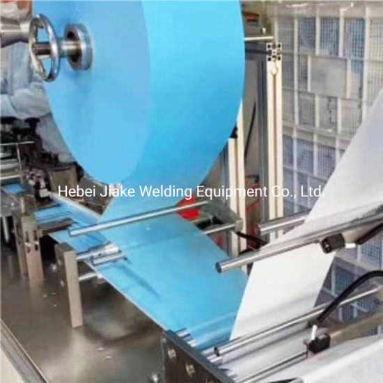 Automatic 3 Ply Non Woven Disposable Face Mask Making Machine with Earloop