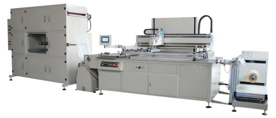 HY610 Automatic Roll to Roll Screen Printing Machine High Quality Non Woven Screen Printer