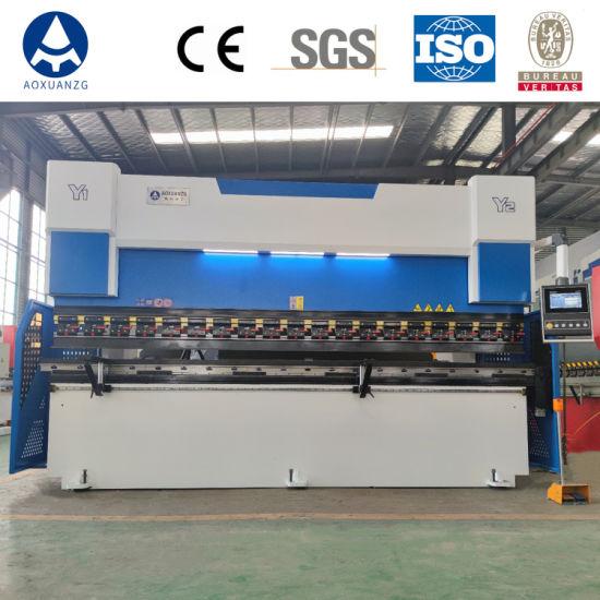 China Factory 3+1 Axis We67K-70t/2500 CNC Hydraulic Press Brake