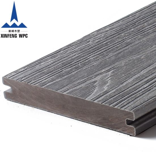 Xinfeng High Strength Co-Extrusion Wood Plastic Composite Decking Solid WPC Decking