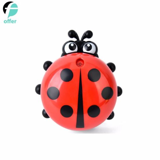 Cute Ladybug Machinery Timers 60 Minutes Mechanical Kitchen Cooking Timer Clock Loud Alarm Counters Manual Timer Kitchen Utensil
