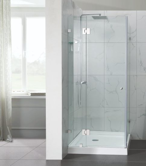 Customized Frameless Hinge Shower Enclosure pictures & photos