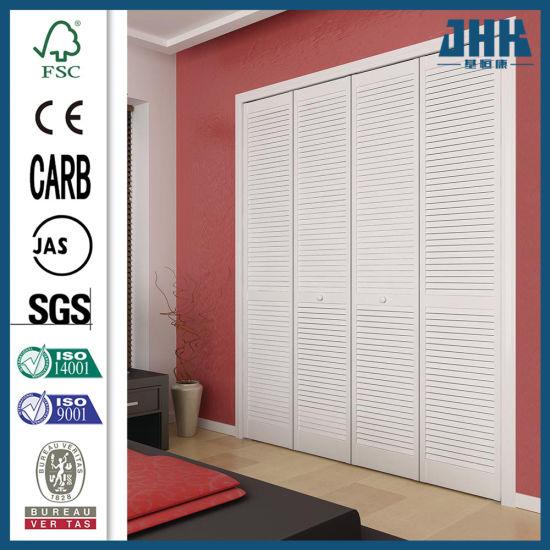China Kitchen Cabinet Shutter Wooden Bifold Door China Simple Bi Fold Door Exotic Design Bi Fold Door