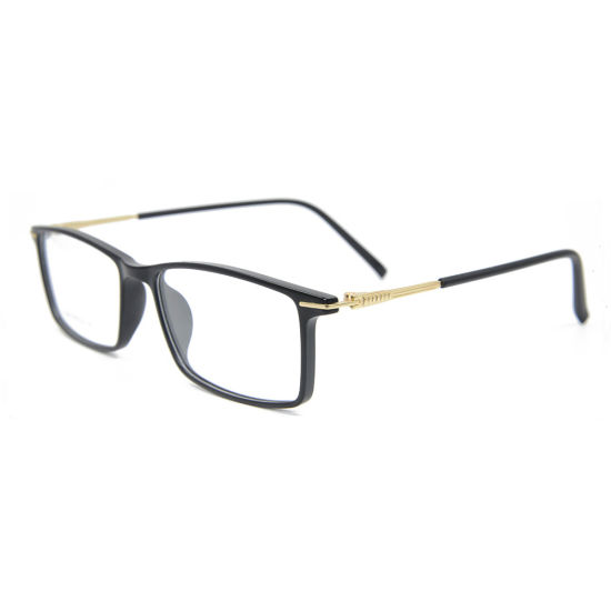 6b952605b84 2018 Factory Custom New Fashion Tr90 Frames Square Light Optical Glasses  Frame for Men