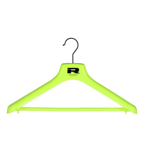 Coats Long Wide Shoulder Anti-Slip Suit Hangers with Bar