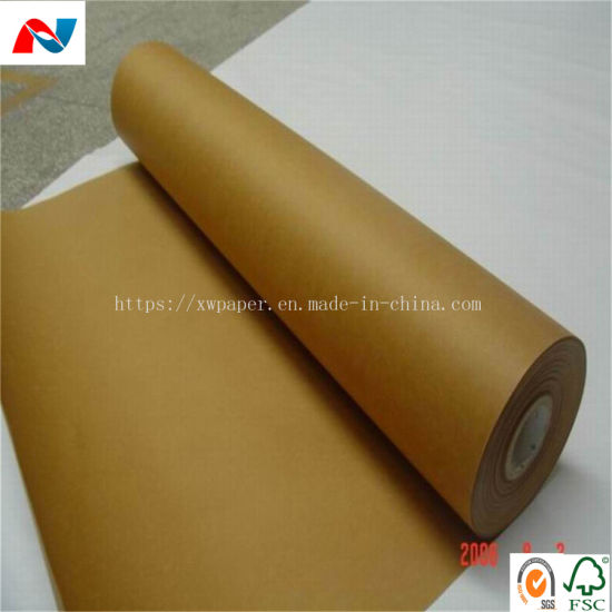 China Eco Friendly Recycle Kraft Paper for Wrapping and Package