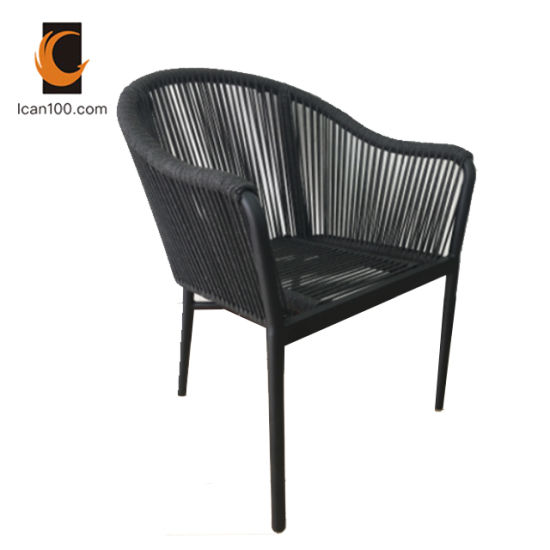 Swell High Temperature Resistance Outdoor Garden French Bistro Modern Leisure Relax Aluminum Rope Rattan Chair Home Interior And Landscaping Ponolsignezvosmurscom