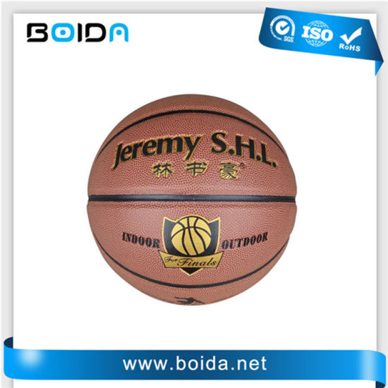Promotional Waterproof PU PVC TPU Sport Rubber Basketball (B88050) pictures & photos