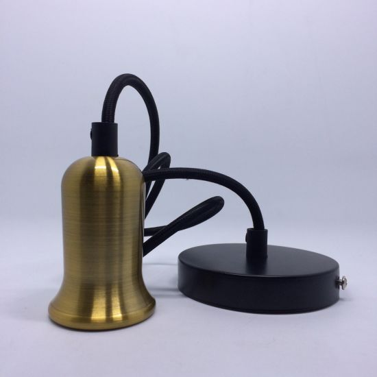 China E26 Vintage Lamp Metal Drop Light Pendant Lamp Parts With Matt
