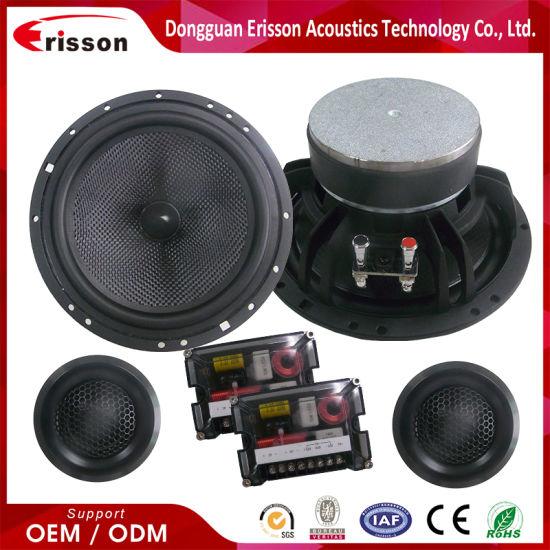 6.5 Inch 2way Loud Component Car Door Speakers & Tweeters Audio Speaker