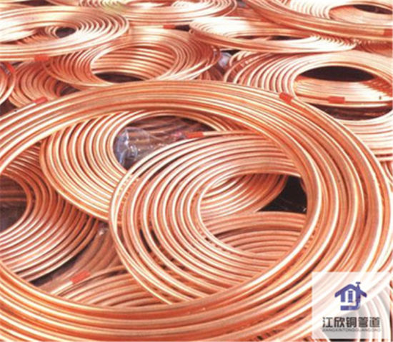 Copper Pancake Coil Pipe Connector Fittings Refrigeration Tube pictures & photos