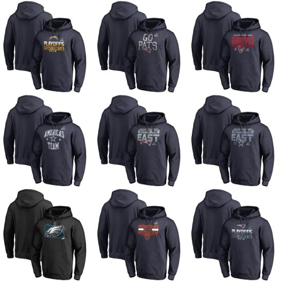 2018 N-F-C a-F-C Division Champions Playoffs Fair Catch Pullovers Hoodies