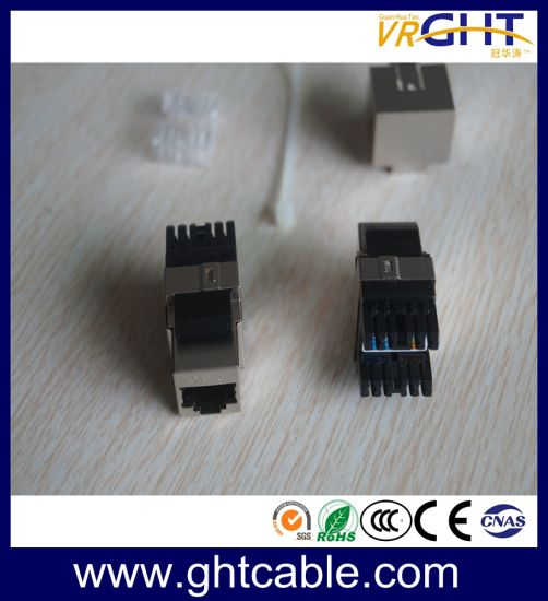 SFTP Cat5e Information Modular Jack Manual Operation pictures & photos