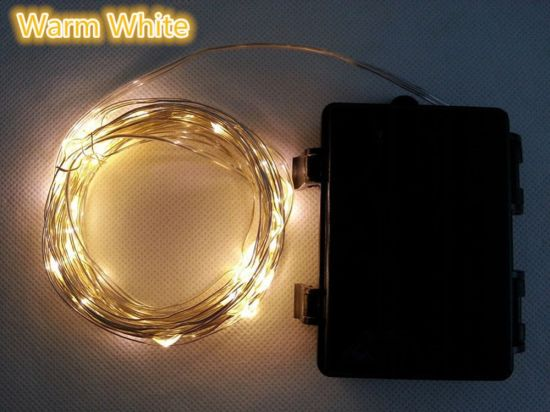 China Outdoor Dimmable Led String Lights 100 Leds Twinkle Lights 33 Ft Copper Wire Lights China String Light Led Decoration