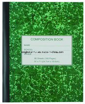 Custom Printed Composition Notebooks School Excise Book