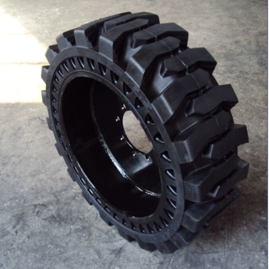 Skidsteer Tire 10-16.5 Solid Bobcat Tire 2017 Hot Selling Tire pictures & photos