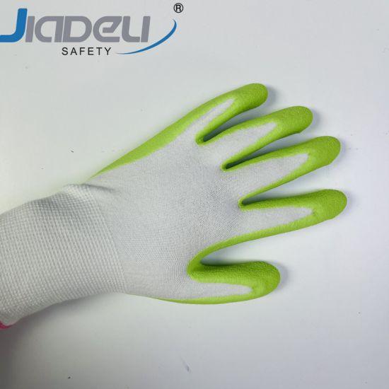 Bamboo Gardening Glove Women Breathable Keep Hands Dry Reduce Slipping Garden Work Gloves