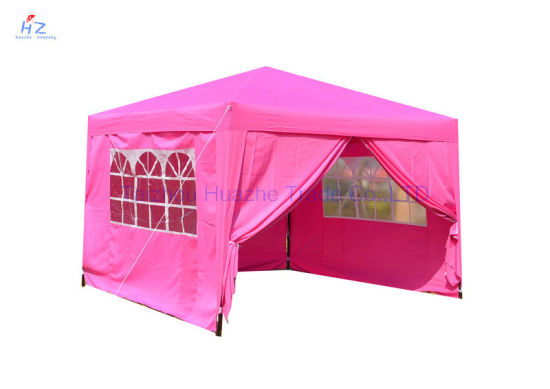 10FT X 10FT Stright Leg Folding Tent with Side Walls Outdoor Gazebo Garden Canopy Pop up Tent Easy up Gazebo for Wedding Gazebo  sc 1 st  Taizhou Huazhe Trade Co. Ltd. & China 10FT X 10FT Stright Leg Folding Tent with Side Walls Outdoor ...