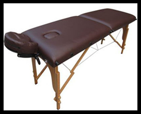 2 Sections Wooden Massage Table (MT-5) Acupuncture, SPA, Health&Beauty, Medical pictures & photos