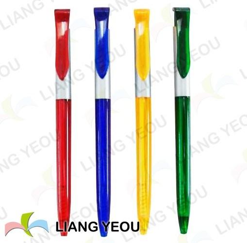 Plastic Ballpen Creative Multicolor Advertising Pen Can Be Customized Logo