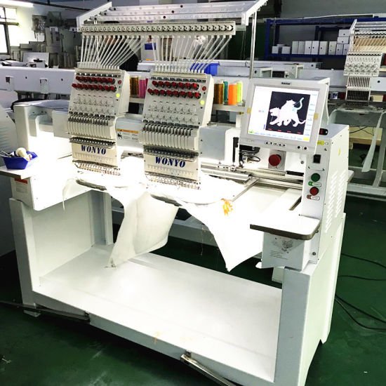 2 Head Cap Embroidery Machine