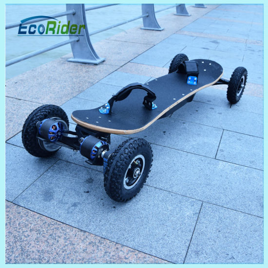 Mini Portable Electric Skateboard Two Burshless Motor 1800W pictures & photos