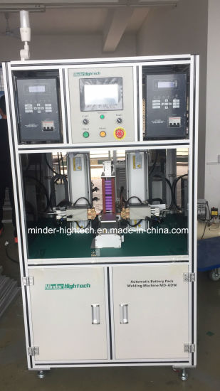 Single Side Automatic Battery Pack Resistance Spot Welding Machine pictures & photos