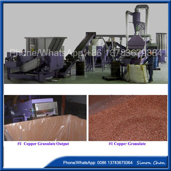 China Most Professional Scrapped Copper Wire Recycling Equipment ...