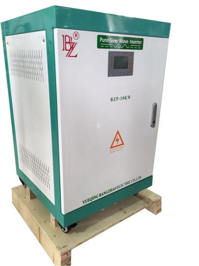E Type Transformer 96V/192VDC Single Phase 10kw Pure Sine Wave Solar Inverter