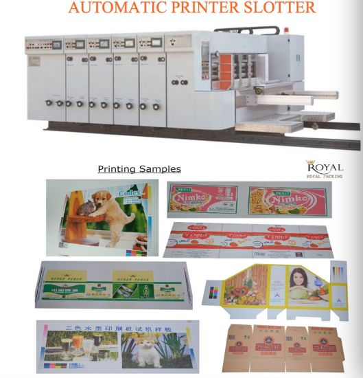 Automatic Printer Slotter Die Cutter (For Big size)