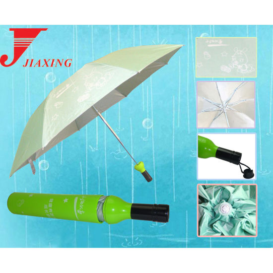 Hot Sale High Quality Folding Bottle Umbrella
