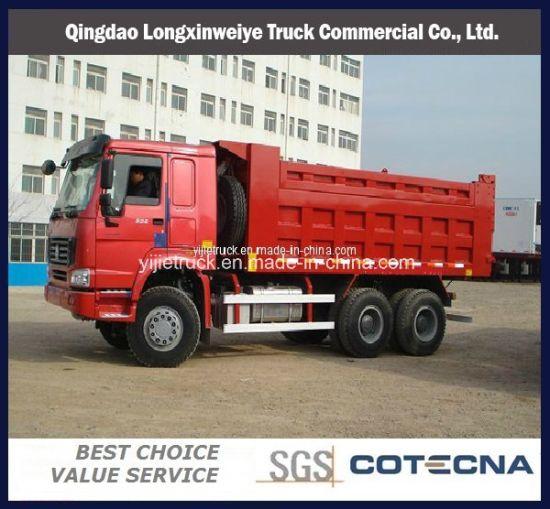 Sinotruk HOWO 6x4 Type 30t 10-Wheel Dump Truck (ZZ3257N3447A1)