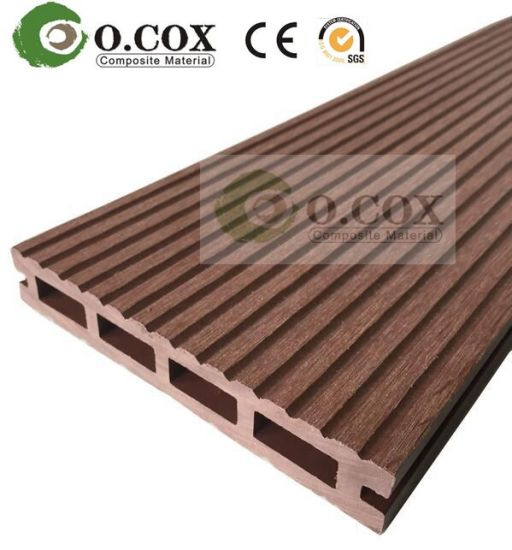 2017 Eco Friendly Hollow WPC Outdoor Decking Wood Plastic Composite Decking