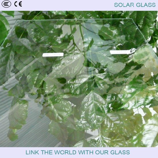 4mm Solar Glass with Tempered Glass for Solar Collector pictures & photos