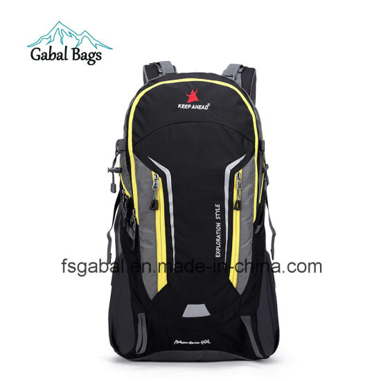 Nylon Waterproof School Sports Travel Laptop Backpack Bag pictures & photos