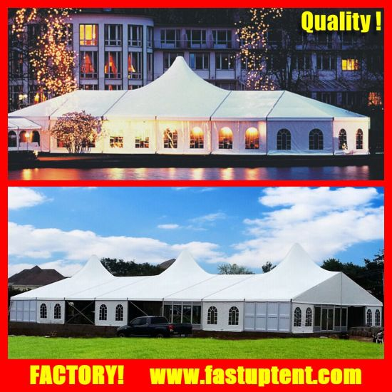 Aluminum Frame High Peak Mixed Tent for Wedding Party Events