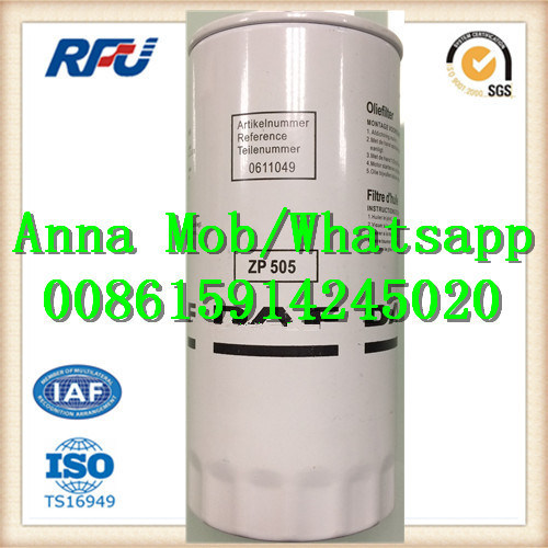 Zp505 High Quality Fuel Filter for Daf (0611049) pictures & photos